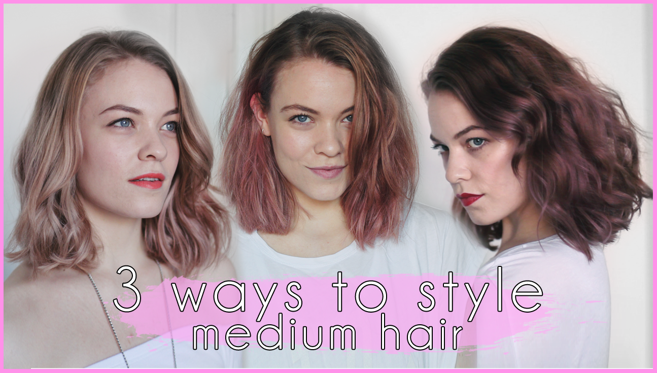 ways to style my hair 3 ways i style my hair the mo look 7779
